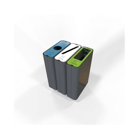 Radius Recycle Bin - With inner container