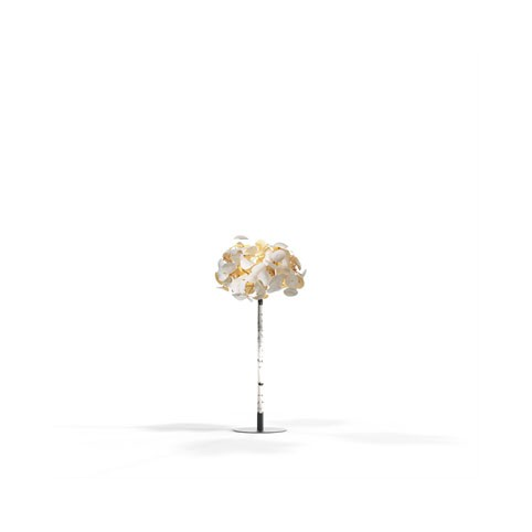 Leaf Lamp Tree - Includes foliage, tree trunk and baseplate
