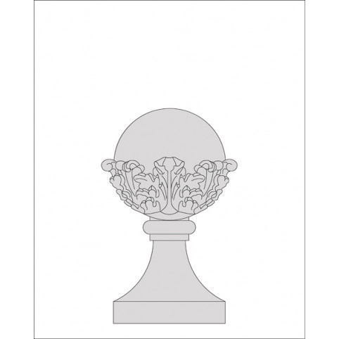 ACANTHUS LEAF BALL ONLY