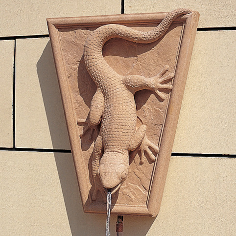 GECKO WALL FOUNTAIN STONE ONLY (RECOMMENDED PUMP: X190)