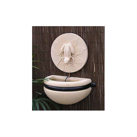 TREE FROG BOWL FOUNTAIN INCLUDING X206 PUMP