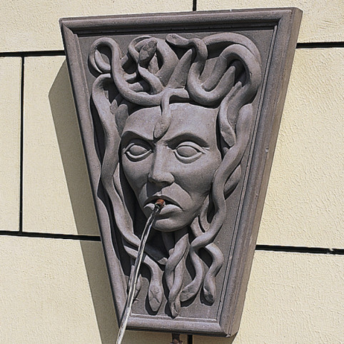 MEDUSA WALL FOUNTAIN STONE ONLY (RECOMMENDED PUMP: X190)