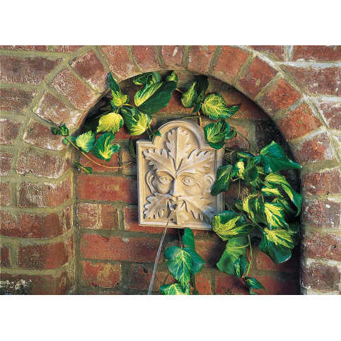 GREEN MAN WALL FOUNTAIN STONE ONLY (RECOMMENDED PUMP: X190)
