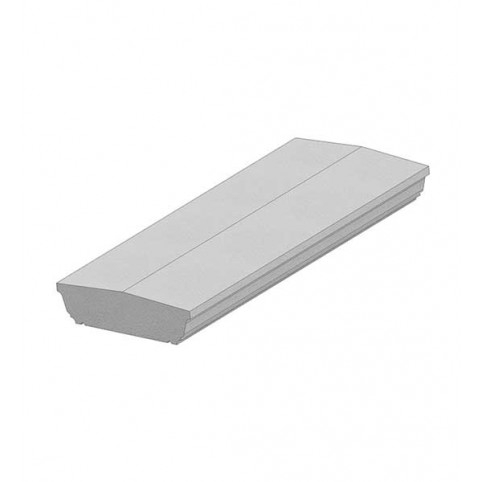 FLAT RAIL FOR STYLES FC AND FS ONLY PER LENGTH 900MM